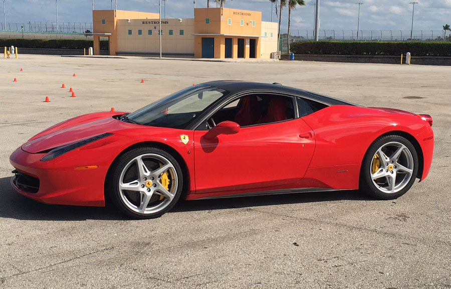 Get Behind The Wheel of an Exotic Car for $99 at Mattress Firm Amphitheater on February 10th!