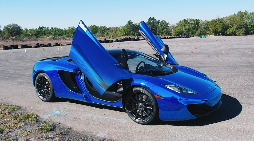 Get Behind The Wheel of an Exotic Car for $99 at National Trail Raceway on August 4th!