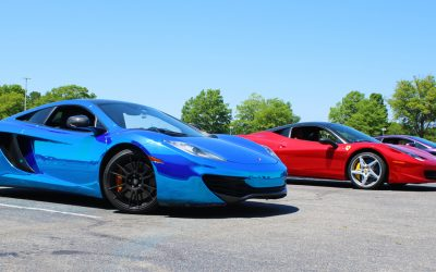 Get Behind The Wheel of an Exotic Car for $99 at Dominion Raceway on August 3rd!